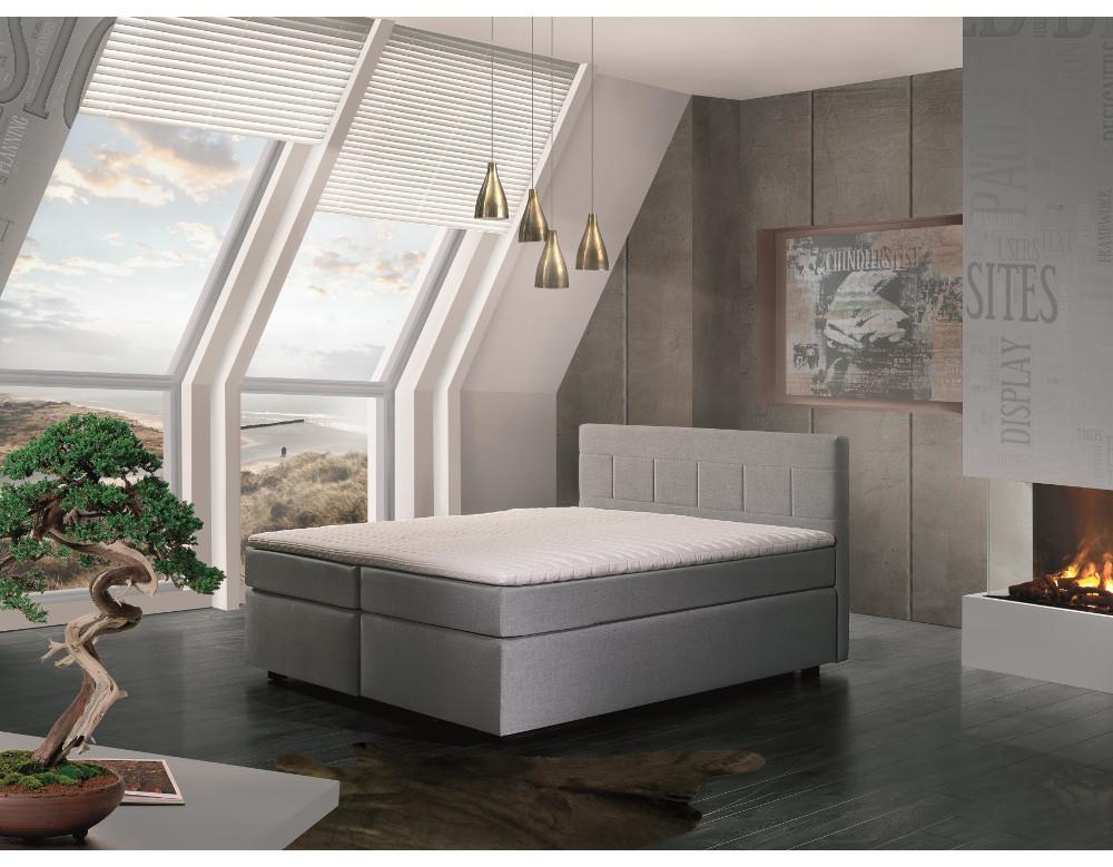 łóżko Kontynentalne Eleganckie I Nowoczesne Salony Agata