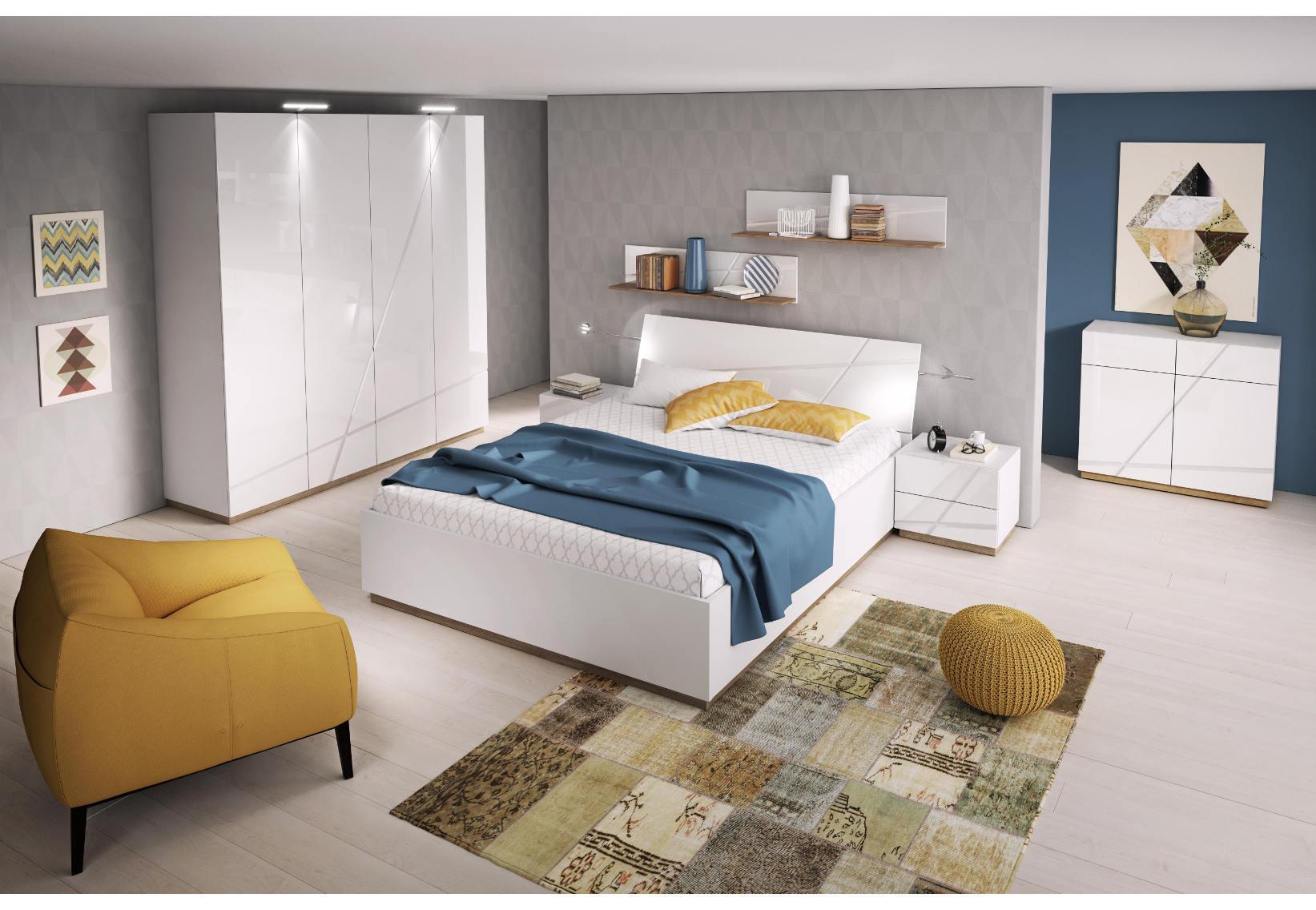 łóżko Z Pojemnikiem Na Pościel Czy Bez Salony Agata