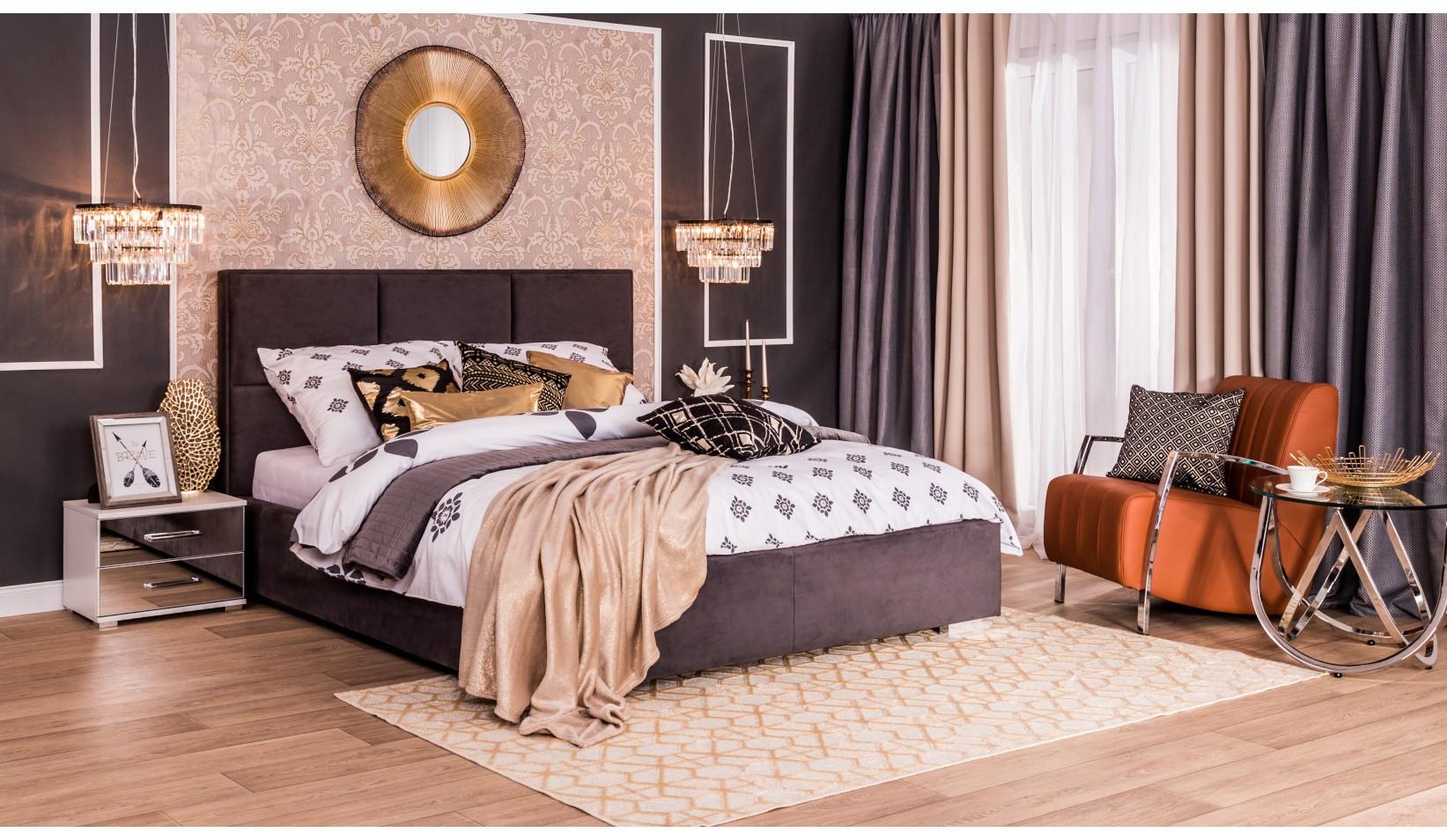 Bardzo dobryFantastyczny Wnętrza w stylu lat dwudziestych – sypialnia art déco   Salony Agata QB82