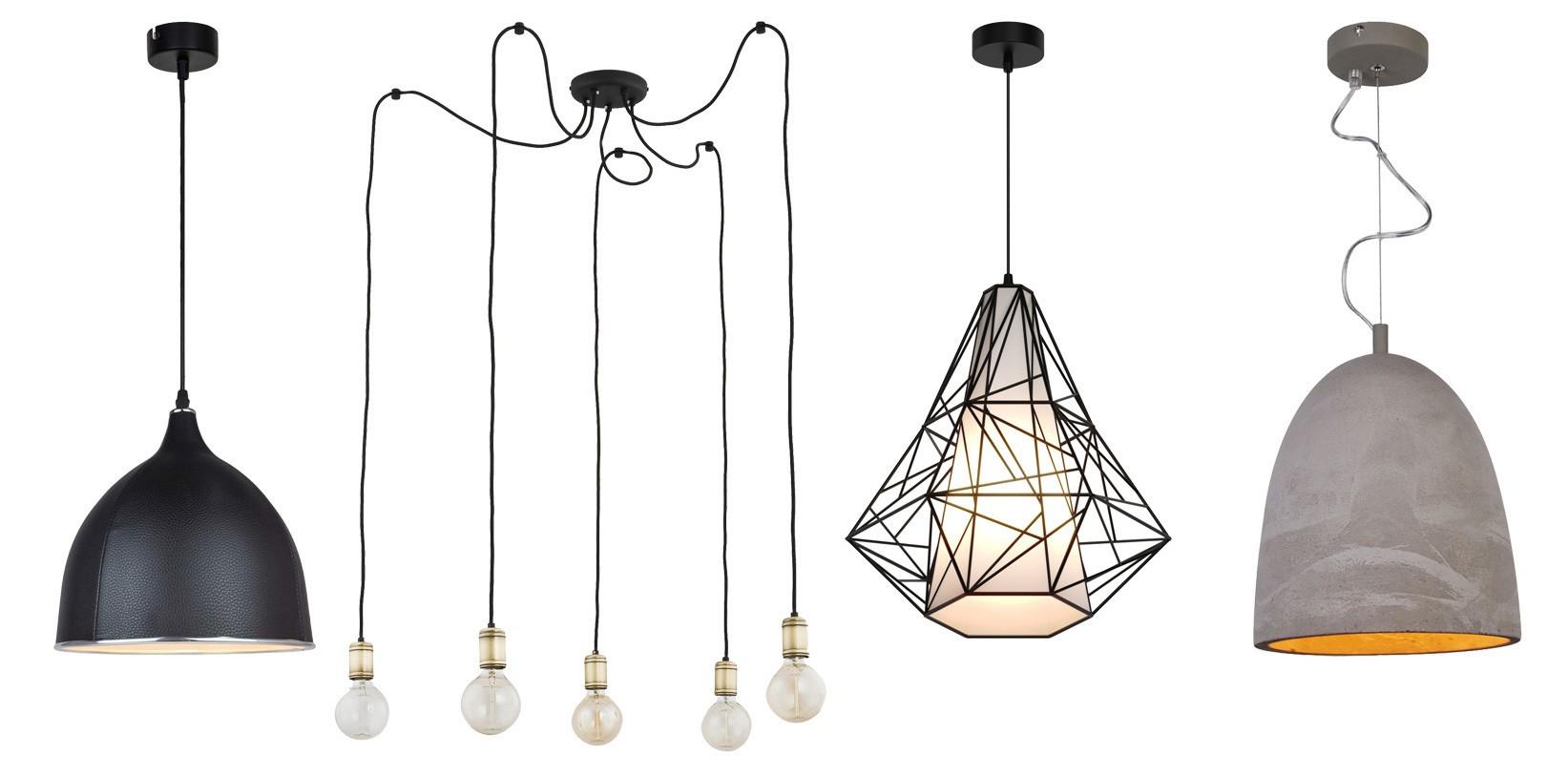 żyrandol Młodzieżowy Industrialne Lampy Oświetlenie Do