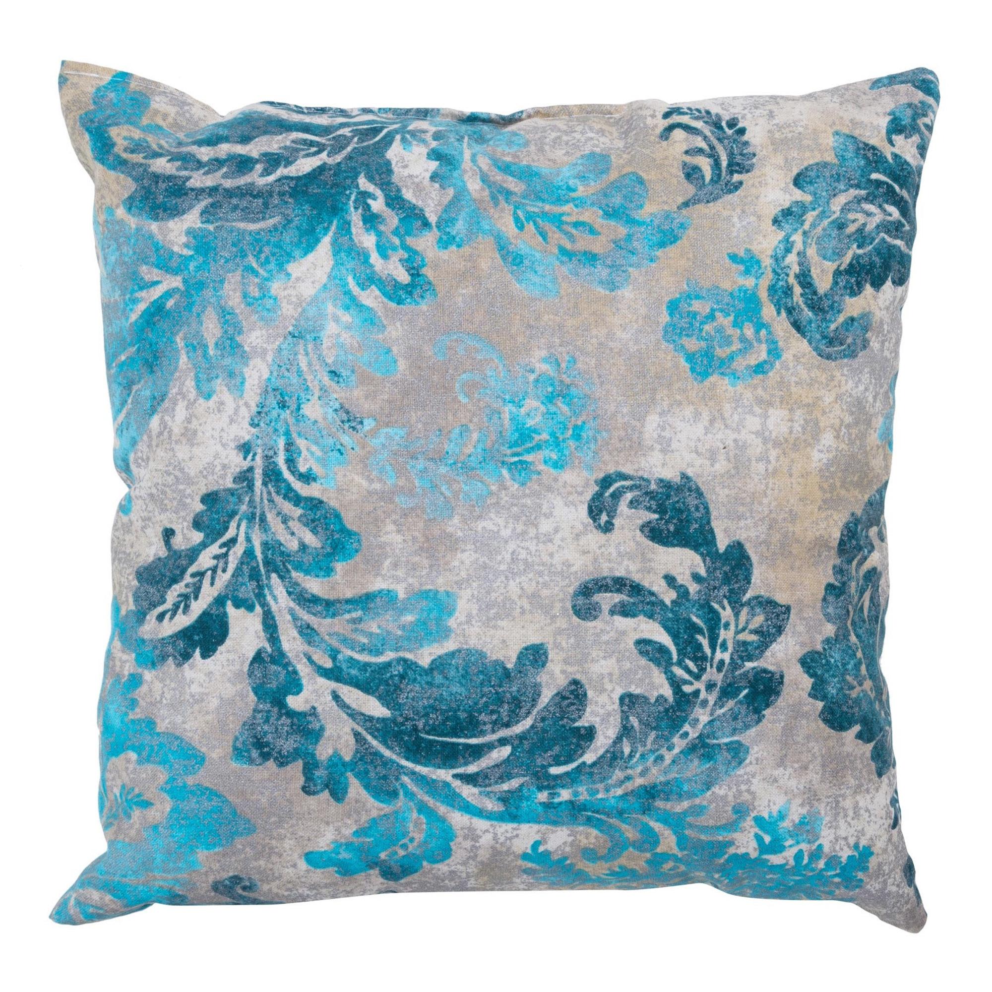 Poduszka Dekoracyjna Glamour Liście 45x45 Cm Salony Agata