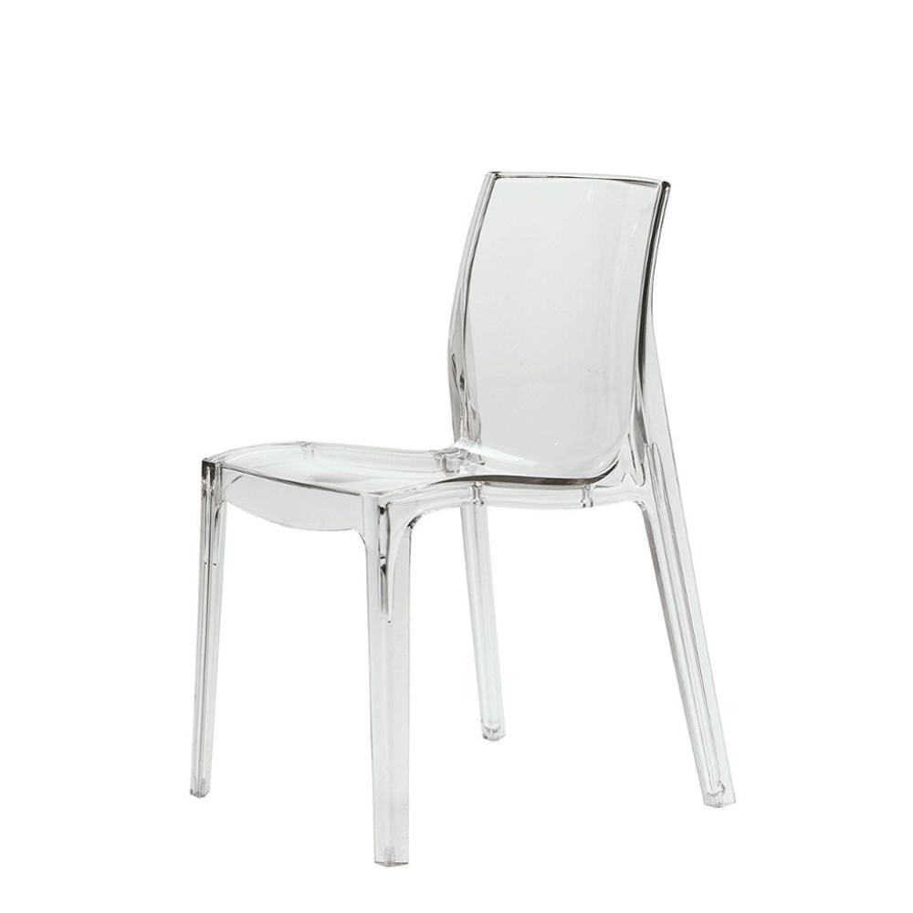 agata meble krzesła przezroczyste