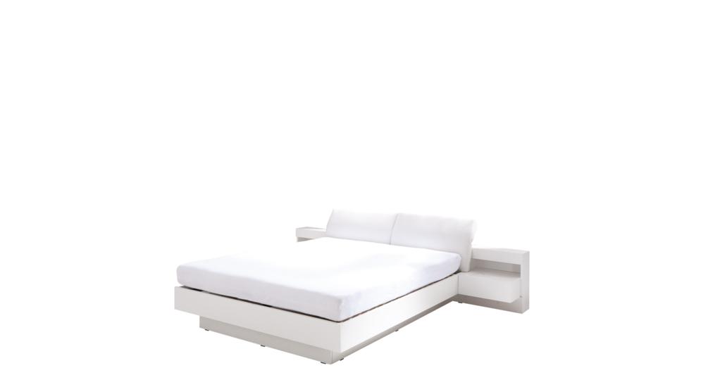 Łóżko RENATO z szafkami nocnymi i oświetleniem TYP32/23