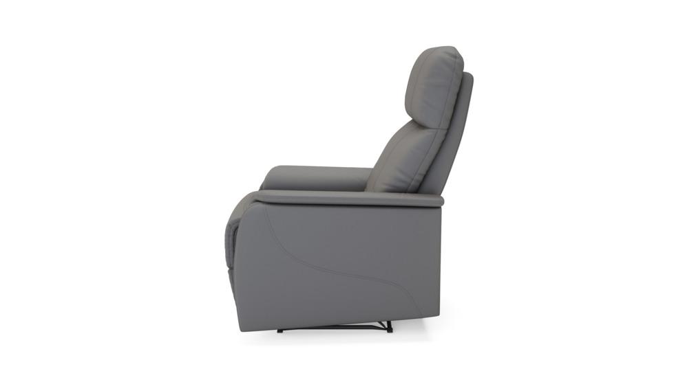 Reno Fotel Z Funkcją Relaks Cx810201 1 Ekoskóra Szarobrązowa