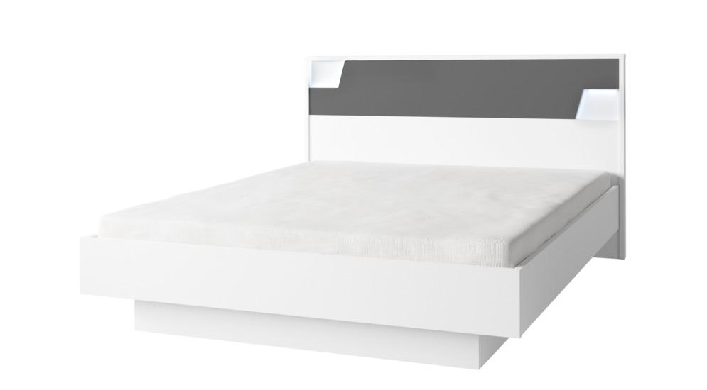 Łóżko FULMO 160x200 z pojemnikiem i stelażem