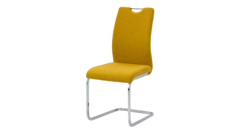 Batik Krzesło Vd1468 25 Tkanina żółta Pk598b 4chrom