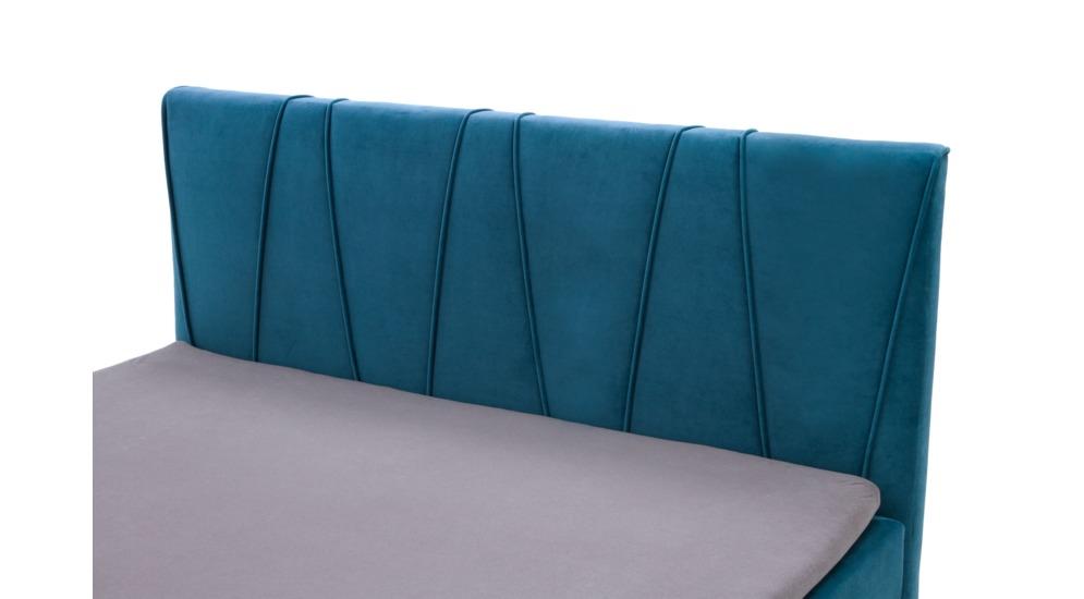 Margo łóżko Z Pojemnikiem Kontynentalne 160200 Gr4 Casablanca2313