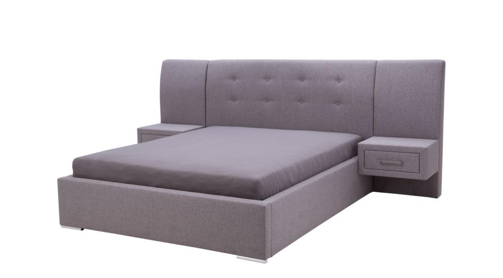 Carmen łóżko Ze Stelażem Z Pojemnikiem 160200 2szafka Nocna Grupa 1 Enzo161