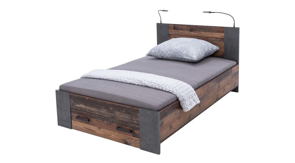 Clif łóżko Clfl1121 C546