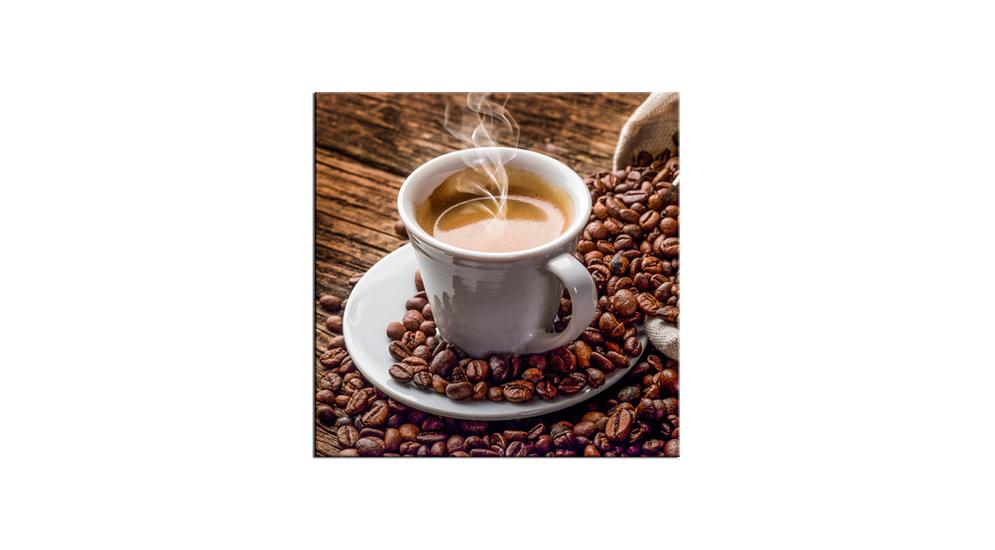 Obraz Glasspik Coffe 20x20 Cm Salony Agata