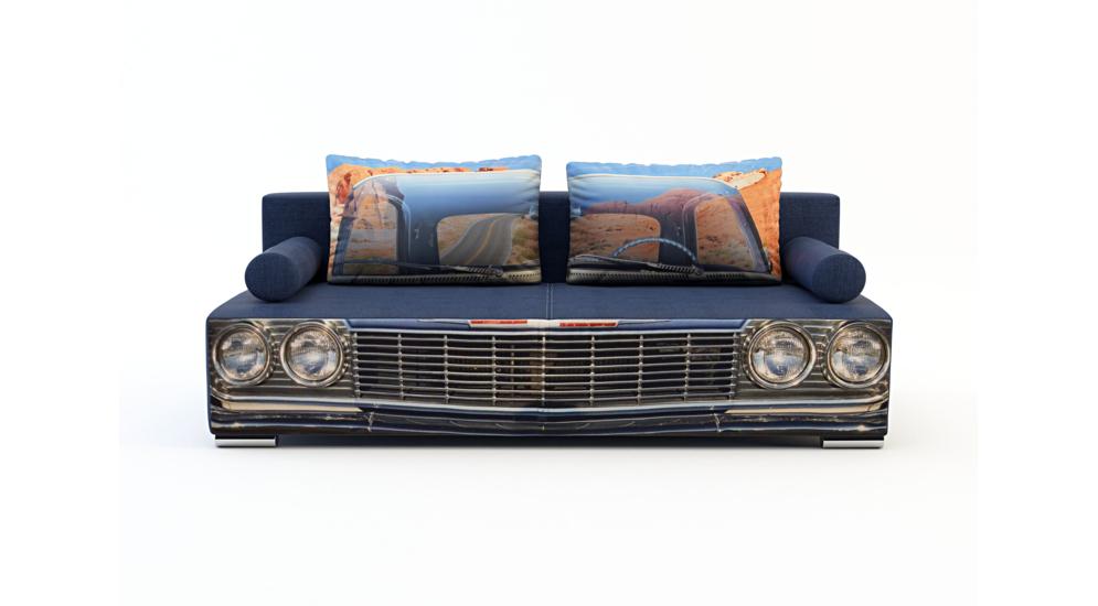 Super Sofa TRENDY 3 osobowa, rozkładana | Salony Agata MR-42