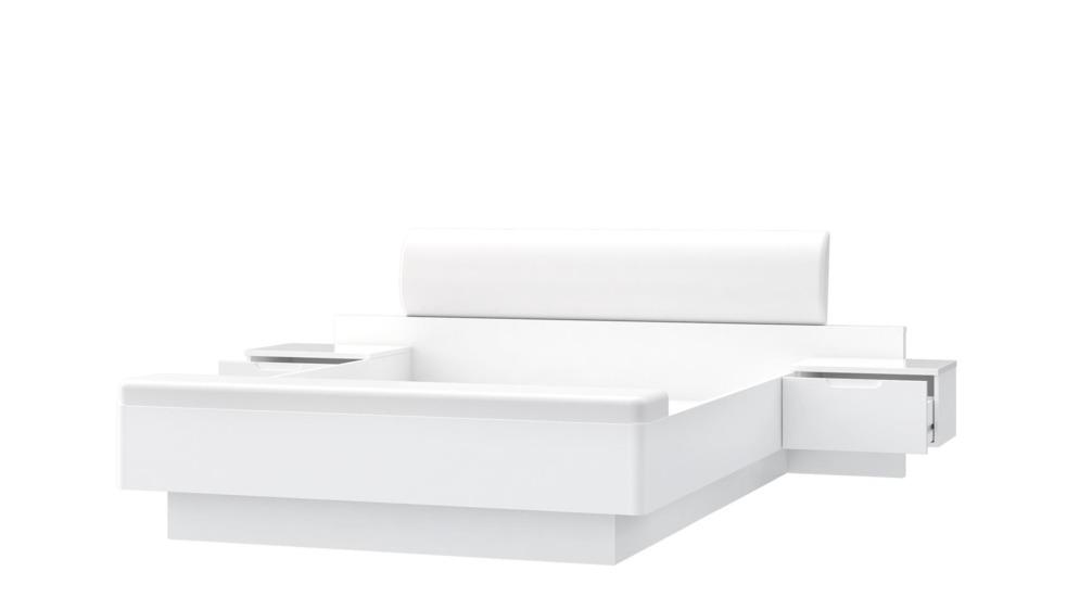 Glossy łóżko 2 Szafki Nocne Stwl163 V29