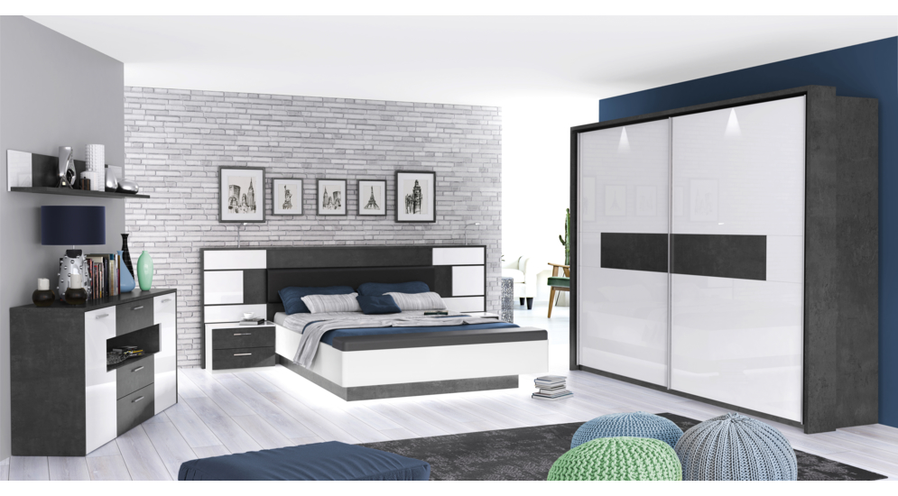 Farra łóżkoszafki Nocne 4s1k Frrl1163 C286