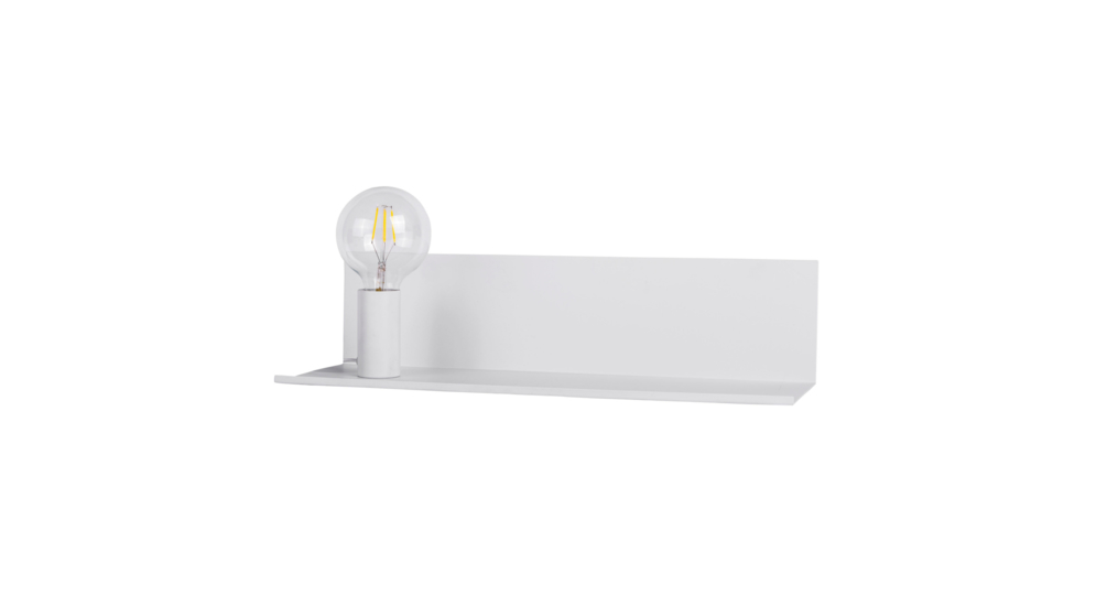 Kinkiet SHELF CS-W088L-M-WH