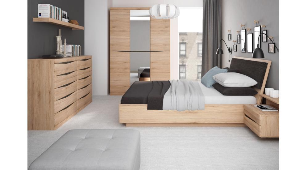 Summer łóżko 140 Typ91 Bez Zagłówka Ze Stelażem I Podnośnikiem San Remo Jasnearusha