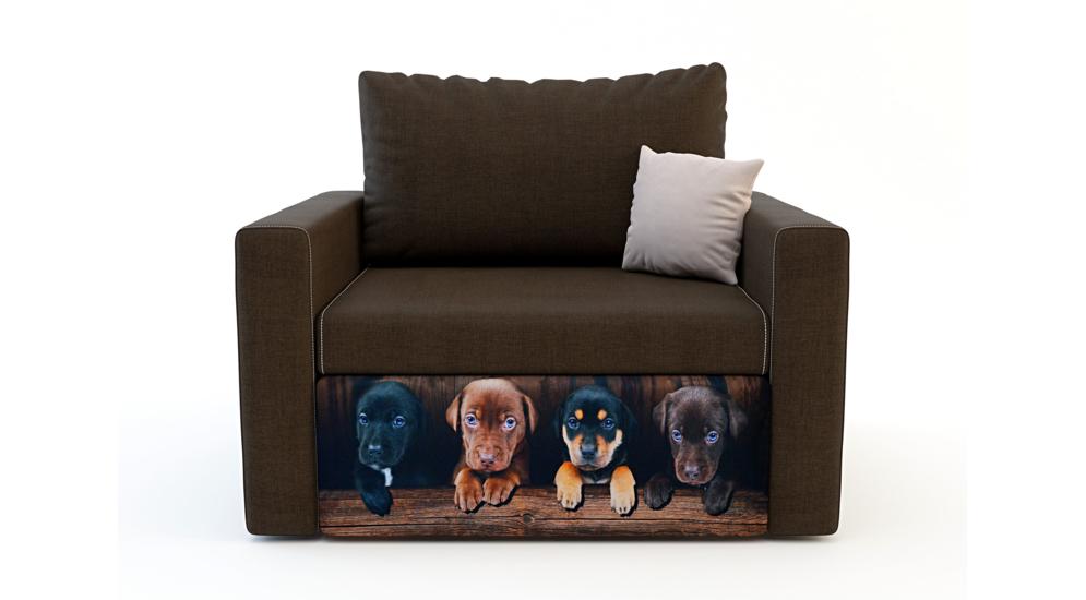 Sofa DOGS 1 osobowa, rozkładana