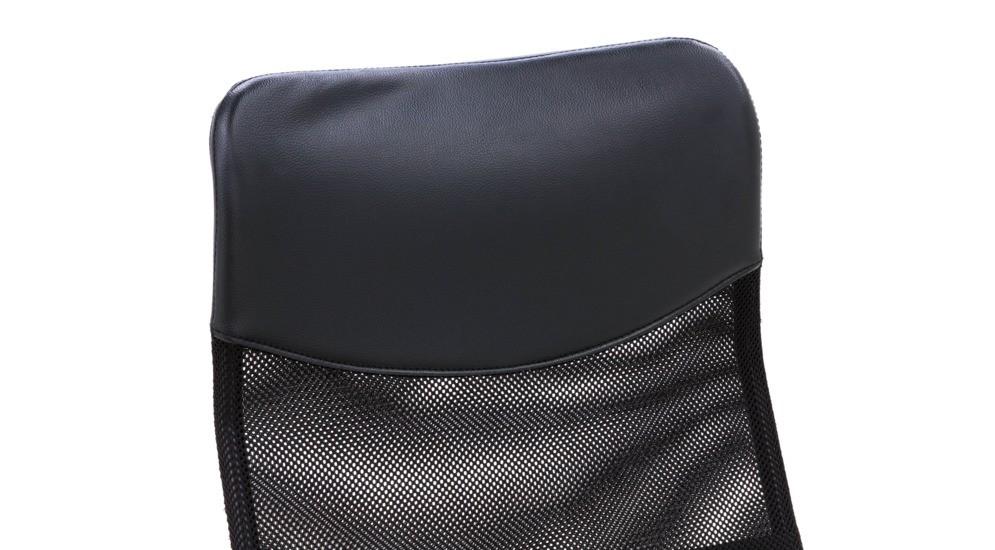 Bristol Fotel Biurowy W 1007 Mesh Czarnyekoskóra Czarnachrom