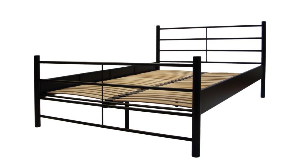 Modern 155 łóżko 140200 Szczyt Dolny średni Czarny Mat Fs Stelaż 140200