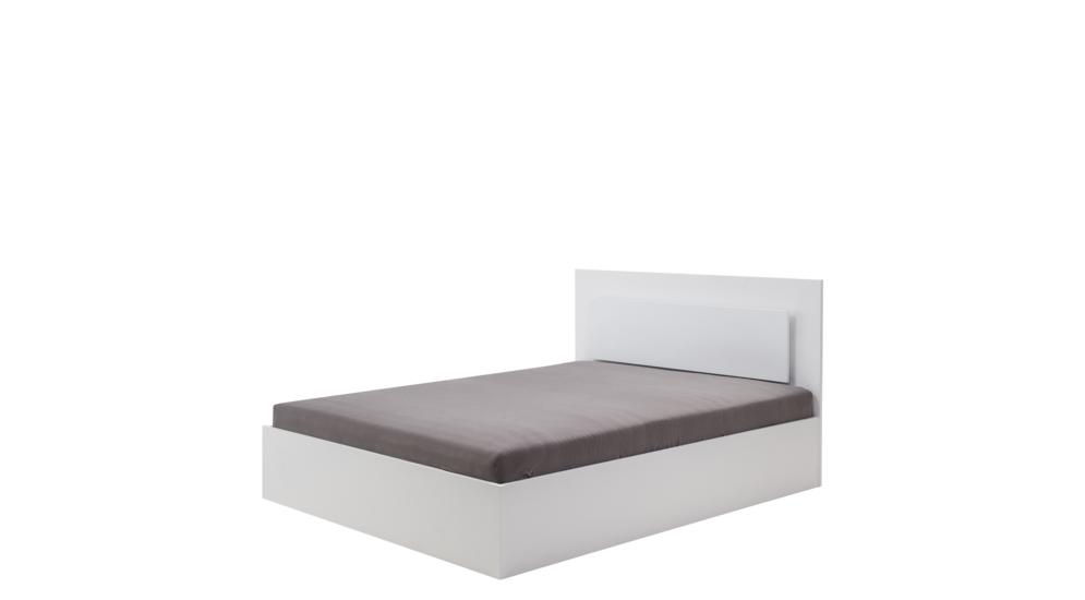 Łóżko SIENA 51 z oświetleniem i pojemnikiem