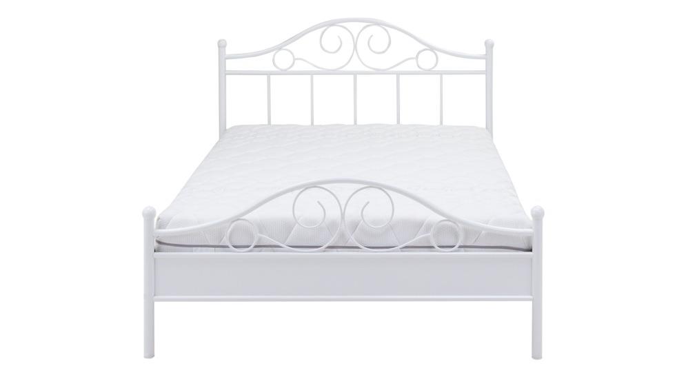 Antic 155 łóżko 140200 Szczyt Dolny średni Biały Fs Stelaż 140200