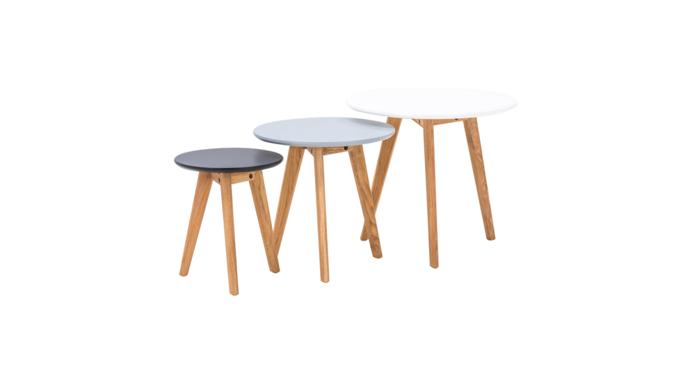 Komplet trzech stolików GABBI JX-KD031