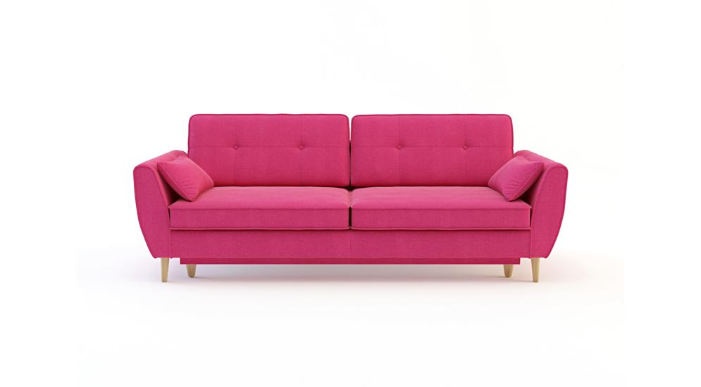 Candy Sofa 3 Os Z Funkcją Tkanina Hamilton2815buk Naturalny 1