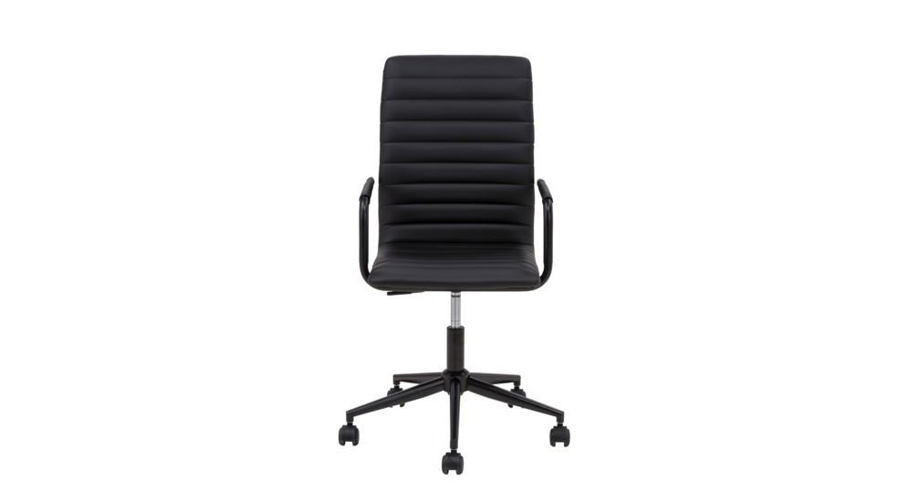 Biurowe krzesło obrotowe ze sztucznej skóry Winslow
