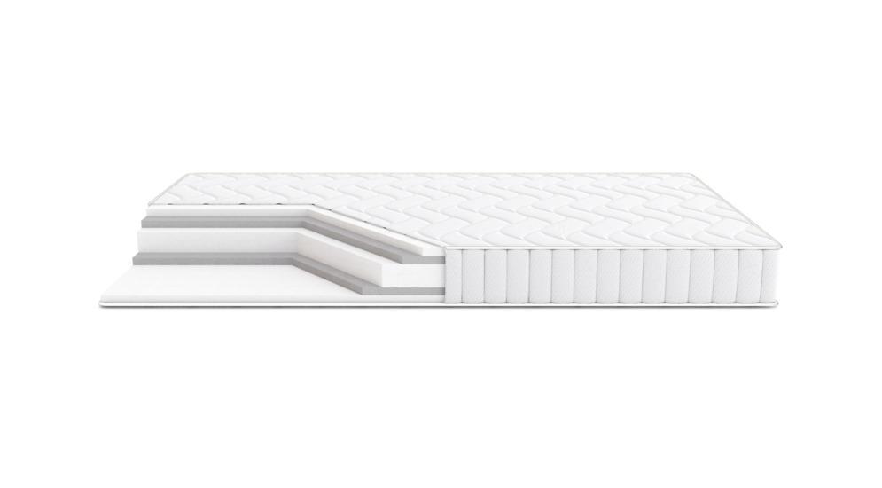 Materac OLCHA VELVET WHITE 180x200 cm