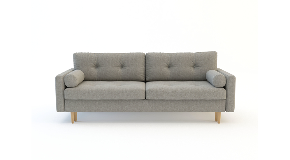Sofa PURE 3 osobowa, rozkładana
