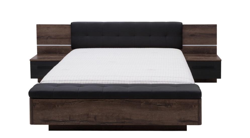 Recover łóżko Szafki Nocne ławka Ze Schowkiem Rcvl161b N09