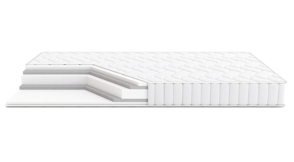 Materac OLCHA VELVET WHITE 140x200 cm
