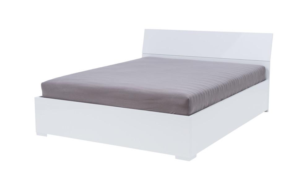 Donatella łóżko 160200 Lakier Biały Połysk