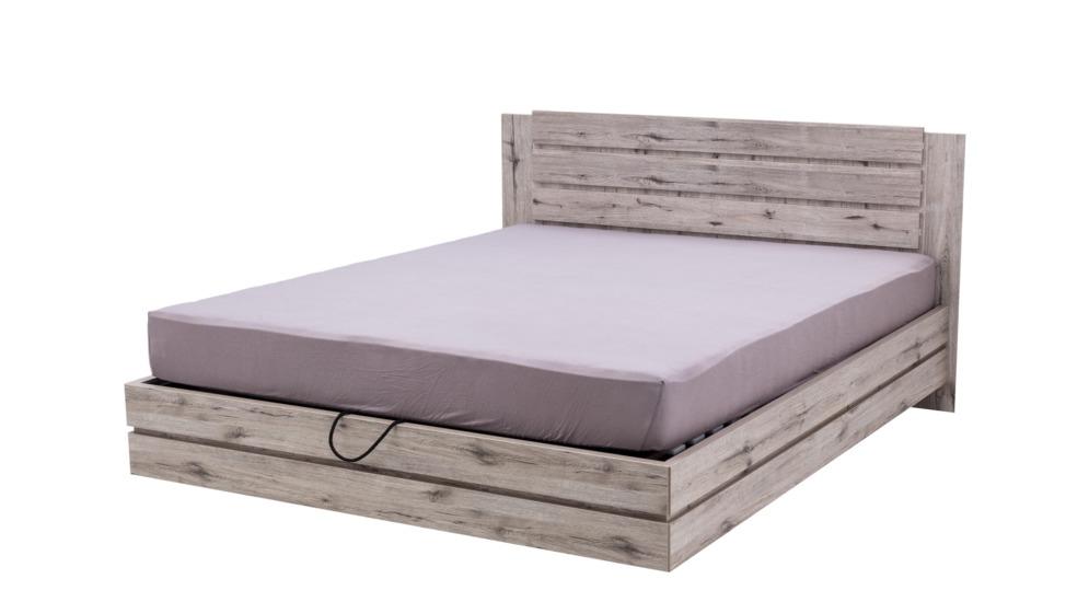 Riccardo łóżko 160200 Typ81 Dąb Wellingtonz Pojemnikiem