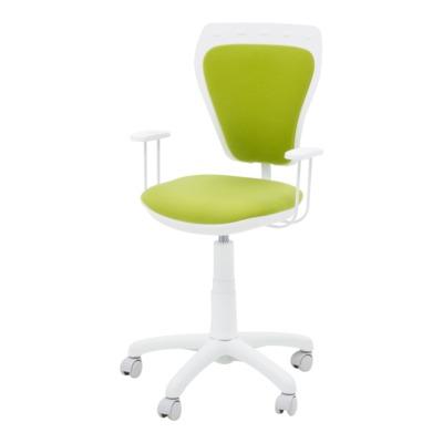 Krzesło obrotowe dla dziecka MINISTYLE WHITE M38