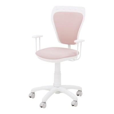 Krzesło obrotowe dla dziecka MINISTYLE WHITE