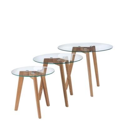 Komplet stolików GARRY TRESET JX-G02