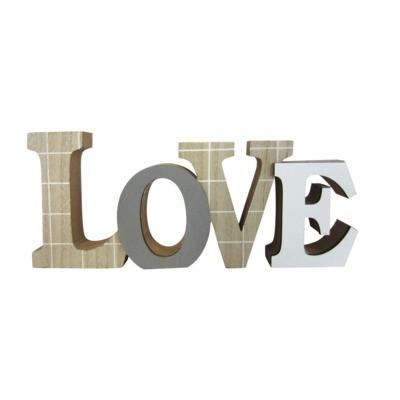 Napis dekoracyjny stojący LOVE