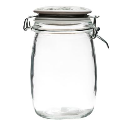 Pojemnik szklany z pokrywką 1 l