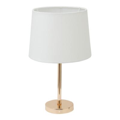 Lampa stołowa 41022-3 złoto-biała