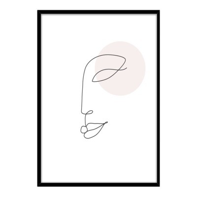 Obraz FACE 50x70 cm