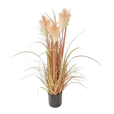 Kwiat sztuczny w doniczce TRZCINA 80 cm