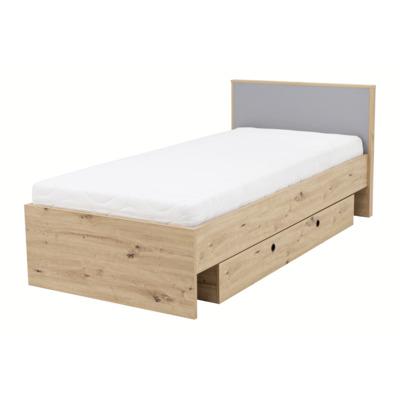 Łóżko KUKI 1S 90x200 z pojemnikiem