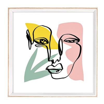Obraz CORA 30x30 cm