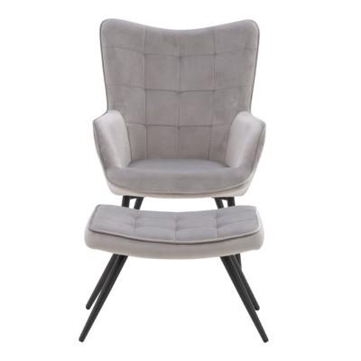 Fotel MULAN z podnóżkiem MY-9360