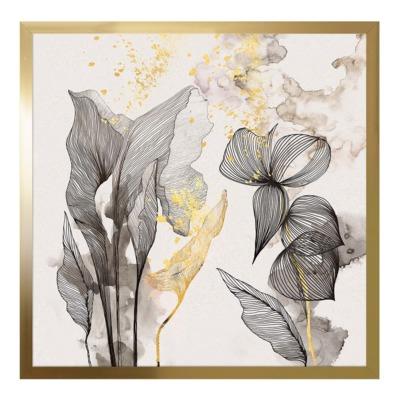 Obraz GOLD SAFARI II 50x50 cm