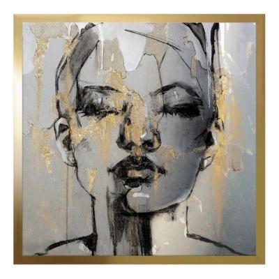 Obraz GOLD SAFARI III 50x50 cm