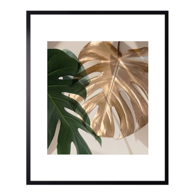 Obraz GOLD MONSTERA III 40x50 cm
