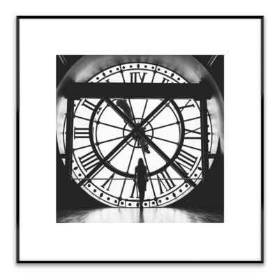 Obraz ARTBOX CLOCK 50x50 cm