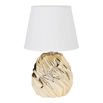 Lampa stołowa 7025 biało-złota