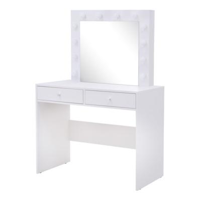 Toaletka z lustrem INSTA, z oświetleniem